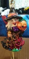 "Kurt Adler Polonaise Halloween Ornament ""Lil' Witch"". #Ap1484."