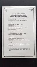 Aspes Juma 1255 1256 certificato omologazione FMI 1976 originale no depliant