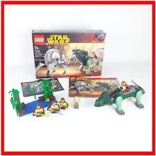 Lego Star Wars 7255 General Grievous Chase + 7121 juegos de nabo pantano incompleto