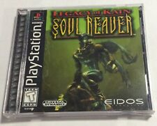 Playstation Legacy of Kain: Soul Reaver Game, Manual and Case