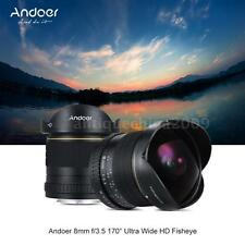 8mm f/3.5 170° HD Ultra Wide Angle Aspherical Fisheye Lens for Nikon DSLR Camera