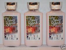 3 Bath & Body Works New York Big Apple Caramel Shea Vitamin E Body Lotion