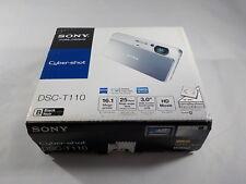 NEW in Open Box - Sony Cyber-Shot DSC-T110 16.1 MP Camera - BLACK - 027242813366