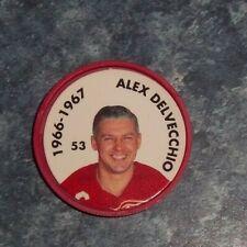 Alex Delvecchio Parkhurst Coin 1966-67 issued 1995-96 # 53 group 2