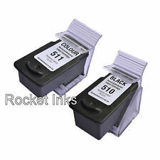 PG510 Black & CL511 Colour Ink Cartridge For Canon PIXMA MP230 Inkjet Printer