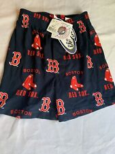 NWT Women's Concepts Sport Boston Red Sox Sleep Lounge Cotton Shorts WHITE Small