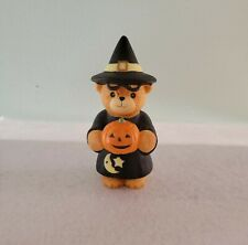 Adorable Lucy & Me Witch Bear Holding Pumpkin