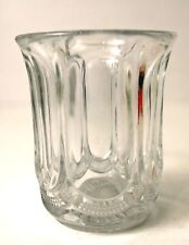 "EAPG CLEAR GALLOWAY VIRGINIA MIRROR 3 3/4"" TUMBLER US Glass Jefferson"
