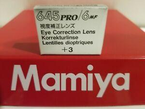 Mamiya DIOPTER/EYE CORRECTION LENS (Mamiya 6, Mamiya 7, 645 PRO TL/SUPER prisms)