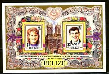 Belize 1986 Royal Wedding MS SG 944 MNH