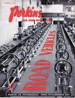 Perkins High Speed Diesel Engines Road Vehicles Original Brochure P3 P4 P6