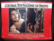 FOTOBUSTA CINEMA - L'ULTIMA TENTAZIONE DI CRISTO - W. DAFOE - 1988 -RELIGIOSO-04
