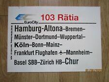 EC 103 Rätia Hamburg-Chur