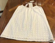 NWT ($79.00) Buffalo David Bitton White Eyelet Summer Dress