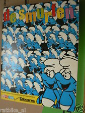 STAMP ALBUM DE SMURFEN COMPLETE ALBUM PART 1,THE SMURFS,DIE SCHLÜMPFE