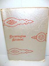 1941 Farmington Student, Farmington High School, Unionville Connecticut Yearbook