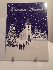 Christmas House 9 Christmas Cards Season's Greetings Church Cards Envelopes