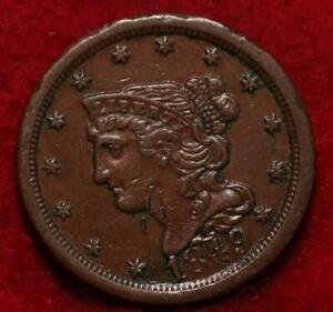 1849 Philadelphia Mint Copper Classic Head Half Cent 13 stars