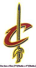 Cleveland Cavaliers Baloncesto Deporte Bordado Parche en hierro, Coser en espada