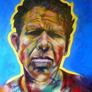 Tom Waits, Original Limited Edition Print, Signed by the Artist