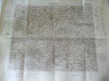 Landkarte Großblatt 93 Groß Wartenberg, Krotoschin, Ostrowo, Schlesien 1940