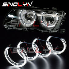 DTM Crystal LED Angel Eyes For BMW 3 Series E46 HID Xenon Headlight Accessories