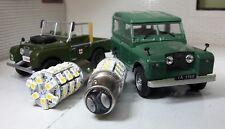 Land Rover Serie 1 80 86 107 LED Combinado Indicador Luz Lateral Ámbar / blanco