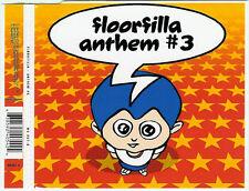FLOORFILLA - Anthem #3 3TR CDM 2000 PROGRESSIVE TRANCE / ITALODANCE