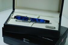 FOUNTAIN PEN AURORA OPTIMA 996CB NIB SIZE M BLUE