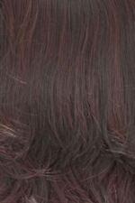 Extensions cheveux synthétiques noirs raides pour femme