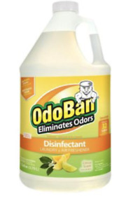 OdoBan Concentrate Laundry and Air Freshener Citrus Scent, 1 Gal.
