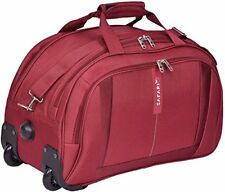 Safari MagnumTravel Trolly Bag 55 cm Red Duffle On Wheels