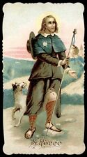santino cromo-holy card-PAL-S.ROCCO 2