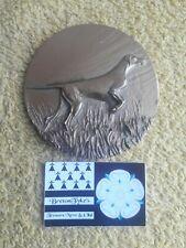 Médaille de table Pointer chien chasse 6.8cm