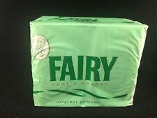 FAIRY MILD GREEN TOILET BATH SOAP BABY PURE GENTLE ORIGINAL PERFUME 4x 100g BARS
