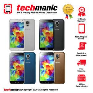 Samsung Galaxy S5 SM-G900F - 16GB (Unlocked) Smartphone - Various Colours
