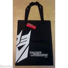 transformers bag Decepticon official new blister pack transformers tote bag