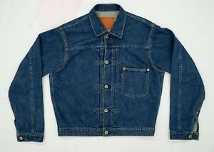 Levi's Vintage Clothing LVC 506xx Type 1 1936 selvedge denim jacket 40 Medium