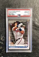 2019 Topps Update AUSTIN RILEY Batting RC #US100 Gem Mint PSA 10 Rookie Braves