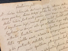 RELIGIOUS LETTER TO CARDINAL IN LATIN 1793 - Indulgence, Vatican, Pope Pius VI