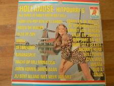 LP RECORD VINYL PIN-UP GIRL HOLLANDSE HITPOURRI NO 6  DURECO ELF 75.40-G A