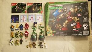 New MEGA BLOKS Teenage Mutant Ninja Turtles Krang's Rampage Plus Extras
