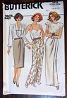 Butterick sewing pattern no. 4434 Ladies Skirts long and short size 6-8-10 new
