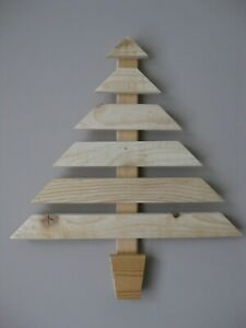 Pallet Christmas Tree. Upcycled. Wall Hanging Decoration.