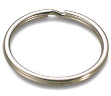 100 Stück Schlüsselringe 12mm vernickelt gehärtet Schlüsselring Split Key Ring