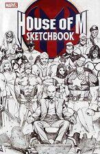 HOUSE OF M # 1 NM; SKETCHBOOK (2005) MARVEL COMICS-  LOT OF 100 COPIES