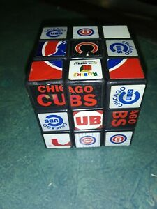 Chicago Cubs MLB Genuine Authentic Rubiks Cube by Sababa Toys