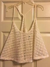 Victoria's Secret Pink Crochet Top Size M