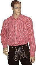 Herren-Trachtenhemden mit Kentkragen aus Baumwolle
