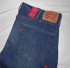 NWT Levis 514 MENS STRAIGHT/STRETCH FIT JEANS~38X32